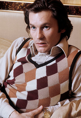 Helmut Berger - Helmut Berger at his home in Rome in 1972