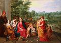 Hendrick van Balen - La Sainte Famille dans un jardin.jpg