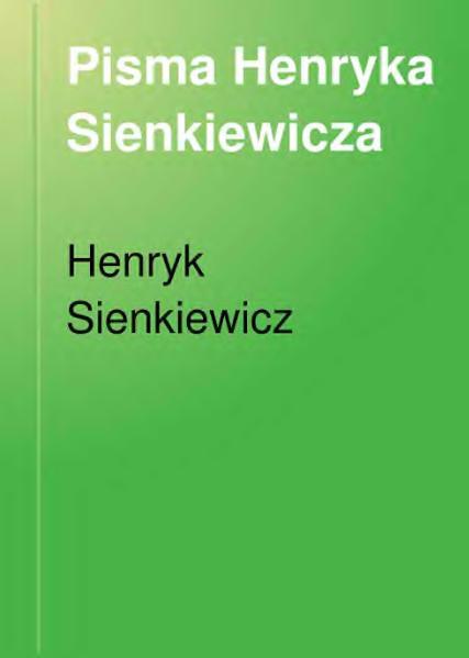 File:Henryk Sienkiewicz-Bez dogmatu (1906) t.1.djvu