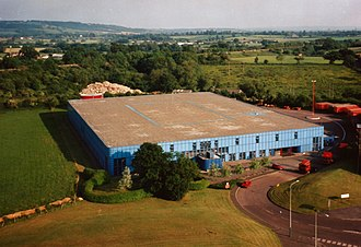 Herman Miller (manufacturer) - A typical distribution depot, in Chippenham, Wiltshire.