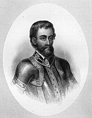 Tryon, North Carolina - Hernando de Soto, Spanish explorer and conquistador