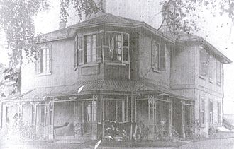 Roncesvalles, Toronto - John Howard's Sunnyside home, c. 1880. The house was later demolished to make way for St. Joseph's Hospital.