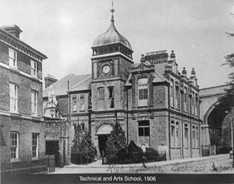 Buckinghamshire New University - High Wycombe Technical School in 1906