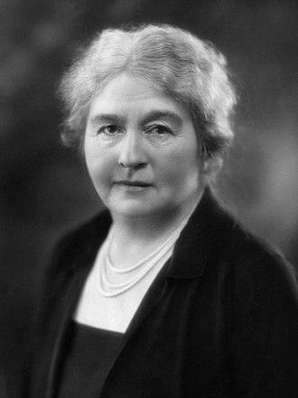 Hilda Runciman, Viscountess Runciman of Doxford - Image: Hilda Runciman 1927