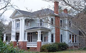 National Register of Historic Places listings in Bleckley County, Georgia - Image: Hillcrest House, Cochran, GA, US