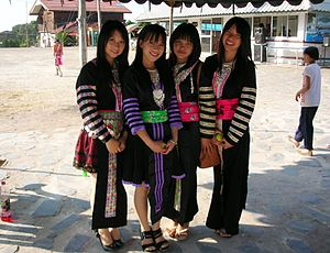 Hmong people - Hmong living in the mountains of the Phi Pan Nam Range in Thailand