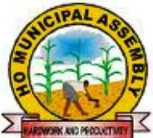 Ho, Ghana - Image: Ho Municipal Assembly District logo