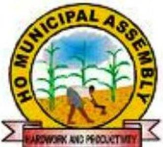 Ho, Ghana - Image: Ho Municipal Assembly District logo
