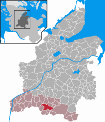 Hohenwestedt – Mappa