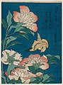 Hokusai (1834) Peonies and Canary, MFAB 21.10228.jpg