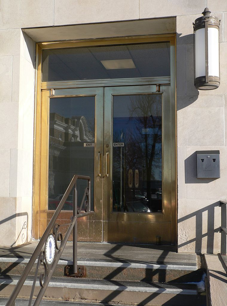 File Holdrege Nebraska City Office W Entrance Doors Jpg