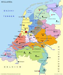 hollandia városai térkép Hollandia – Wikipédia