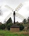 Hollow post windpump in Starston - geograph.org.uk - 1592942.jpg