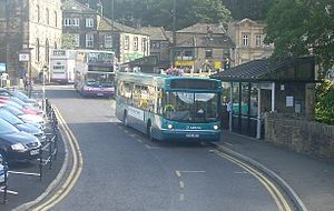 Holmfirth - Holmfirth bus station