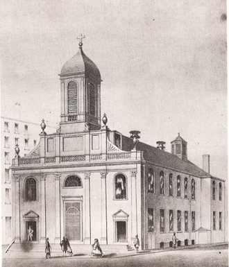 1803 in architecture - Holy Cross Church, Boston