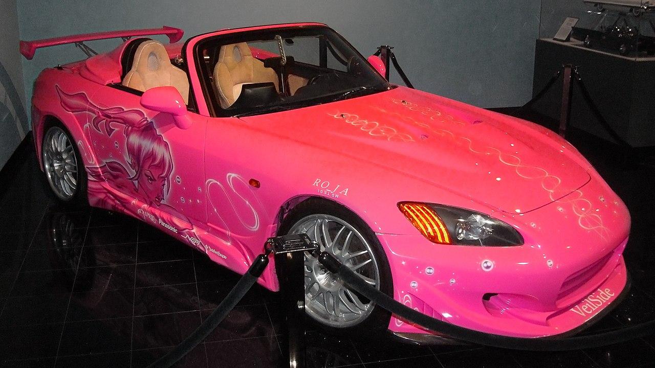 Pink Honda S2000