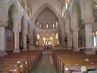 Cathedral Church of Saint Andrew (Honolulu) - Image: Honolulu St Andrews nave interior