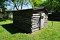 Hopkins County Museum and Heritage Park March 2017 38 (Log Smokehouse).jpg