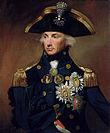 L'ammiraglio britannico Horatio Nelson.
