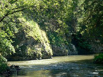 Hornád - The gorge of Hornád river in Slovak Paradise
