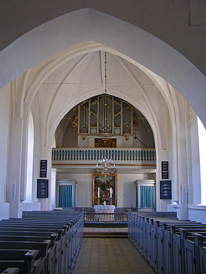 Horne Church - Horne Church interior.