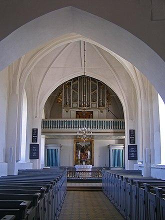 Horne Church - Horne Church interior.