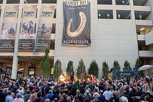 Jack Entertainment - Image: Horseshoe Casino Grand Opening 2014
