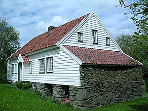 Jæren - Image: House at Jæren in Norway Garborgheimen