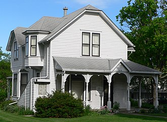 Howard Hanson - Hanson's boyhood home in Wahoo, Nebraska is on the National Register of Historic Places