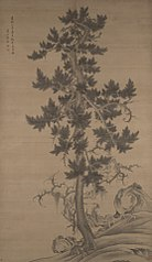 Old Pine, after Li Cheng