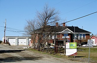 Hudson, Ontario - Township hall