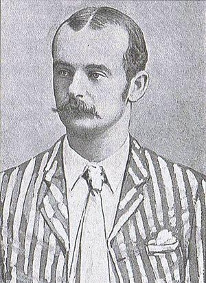 Australian cricketer Hugh Massie