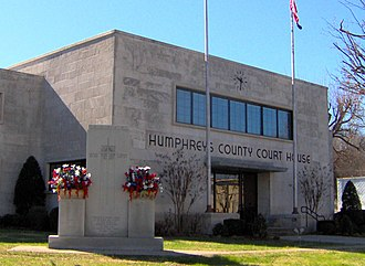 Humphreys County, Tennessee - Image: Humphreys county courthouse tn 1