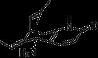 Struktur von Huperzin