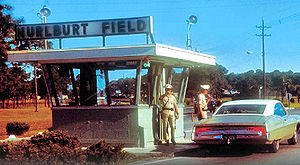 Hurlburt Field - Main Gate (about 1967)