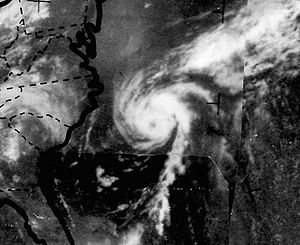 1968 Atlantic hurricane season - Image: Hurricane Brenda on June 22, 1968 ESSA