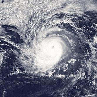 1990 Pacific hurricane season - Image: Hurricane Julio Aug 21 1990 1831Z