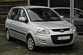 Hyundai Matrix 1.6 Comfort (2. Facelift) – Frontansicht, 14. August 2011, Heiligenhaus.jpg