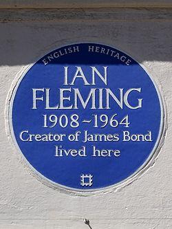 Ian fleming 1908 1964 creator of james bond lived here