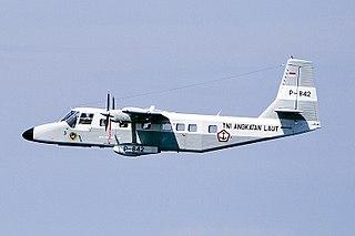GAF Nomad Airplane