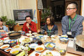 I Corps soldiers dine with Japanese families 131202-A-CD114-271.jpg