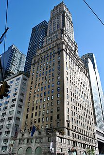 Ritz Tower Residential building in Manhattan, New York