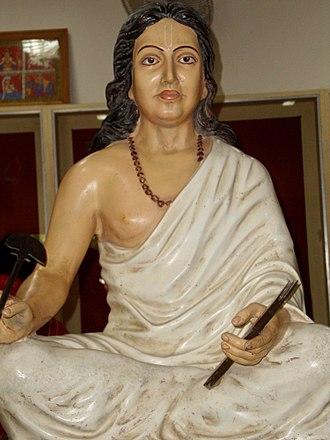 Jayadeva - Jayadeva's idol at Kendubilwa, Odisha
