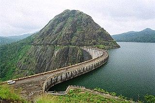 Dam in Kerala, India