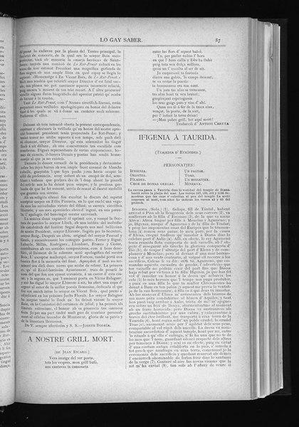 File:Ifigenia á Taurida - Lo gay saber (1880).djvu