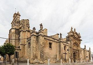church building in El Puerto de Santa María, Spain