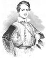 Illustrirte Zeitung (1843) 10 145 1 Otto I., König von Griechenland.PNG