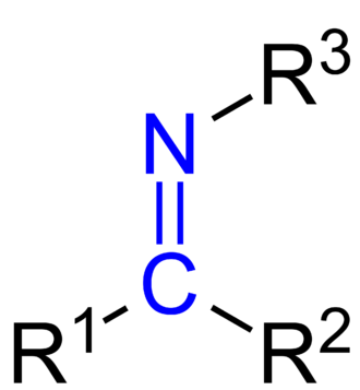 Schiff base - General structure of a imine. Schiff bases are imines in which R3 is an alkyl or aryl group (not a hydrogen). R1 and R2 may be hydrogens