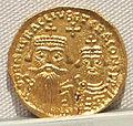 Impero romano d'oriente, eraclio con eraclio costantino, emissione aurea, 613-638, 03.JPG