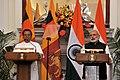 Indian Prime Minister Narendra Modi and Sri Lankan President Maithripala Sirisena.jpg